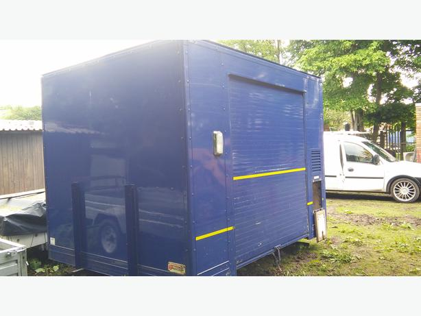 TRAILER,BODY,STORAGE,BOX,WORK SHED,PROJECT,DOG KENNEL,