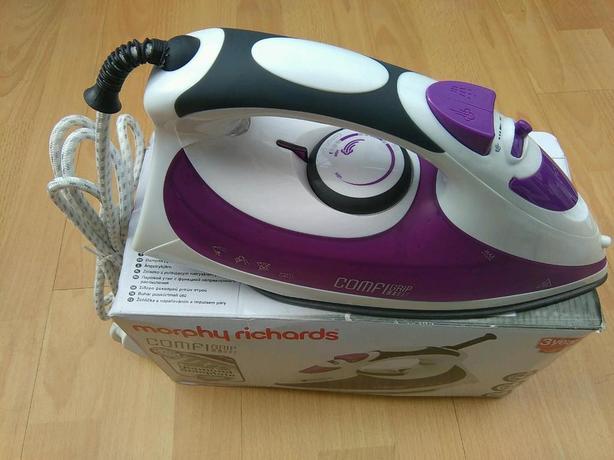 Purple/white Comfigrip Iron