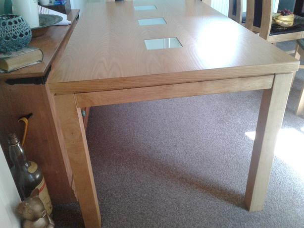 Dining table 34 inch x 62 inch