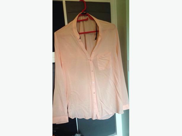 Size 16 Womens Peach Shirt