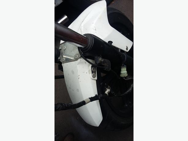 Yamaha R125 2008 Mudguard White