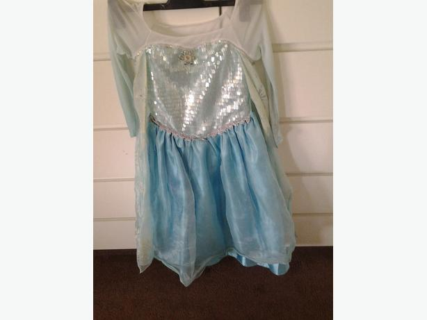 Disney store  BLUE Princess Dressing Up Costume Aged 7 - 8 Years