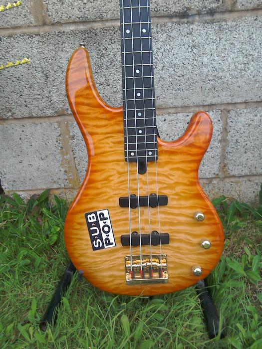 Yamaha bb g4 four string bass dudley dudley for Yamaha bb bass