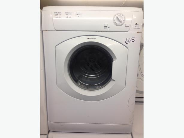 REDUCED TO CLEAR HOTPOINT 6KG DRYER BARGAIN
