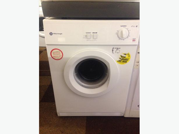 WHITE KNIGHT DRYER VENTED