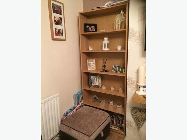 ikea oak furniture **REDUCED £40!!!!!**