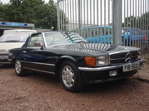 Mercedes-Benz SL Class SL380 2dr
