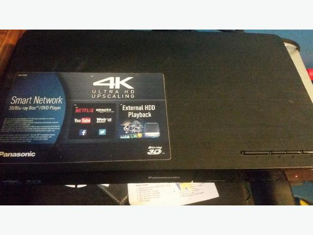 hardly used blu ray dvd player
