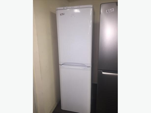INDESIT TALL FRIDGE FREEZER IN GREAT CONDITION WITH GUARANTEE