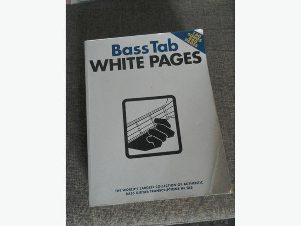 Bass white pages bass tab