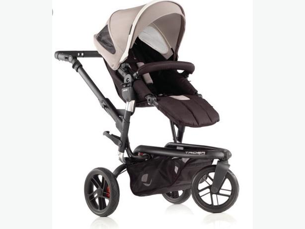 jane trider pushchair with bag, carseat and isofix