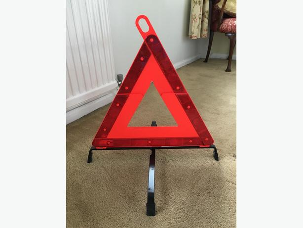 MERCEDES HAZARD WARNING TRIANGLE FOR SALE