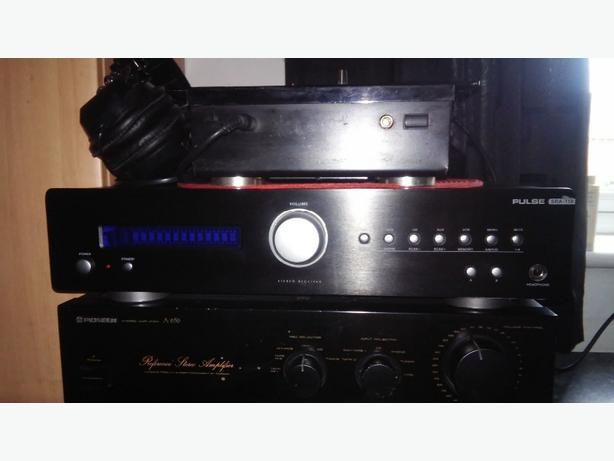 Pulse amp/reciever 300 watt