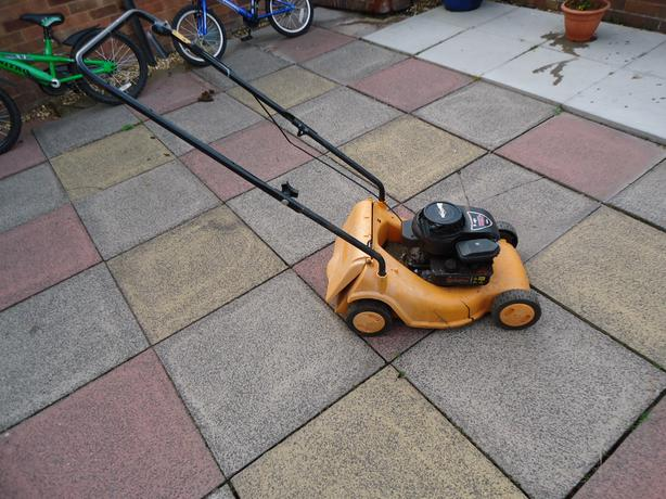 petrol lawn mower spares or repairs
