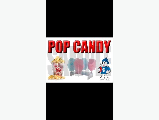 FOR HIRE candy floss/popcorn/slush puppie machines