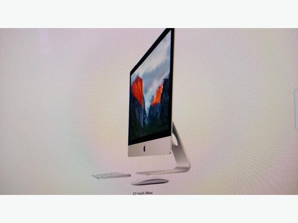 Apple Imac 21.5 inch 2016 like new