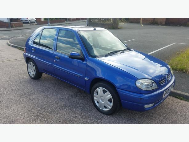 2002 CITROEN SAXO 1.1 89000 MILES MOT SEPT LOOKS AND DRIVES GOOD £370 NO OFFERS