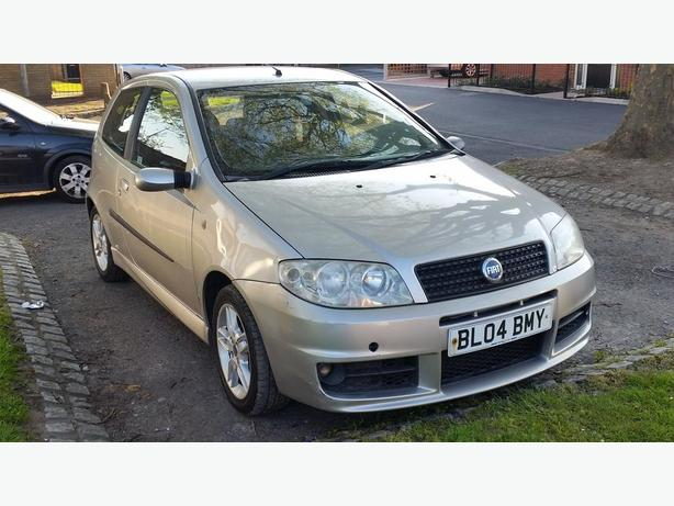 2004 FIAT PUNTO 1.4 SPORTING MOT NOV DRIVES GOOD £500
