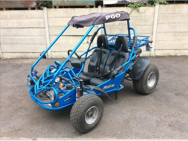 Pgo bugxter road legal buggy 150cc auto with reverse very fun 2 seater