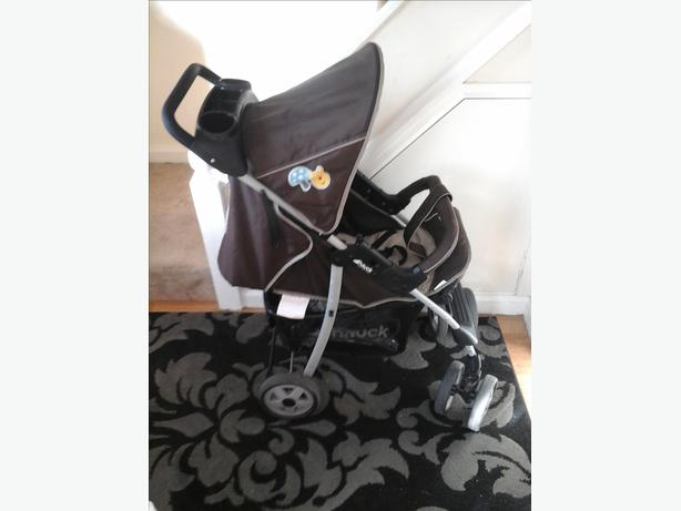 HAUCK WHINNIE THE POOH PRAM AND CAR SEAT