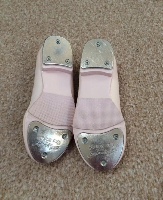 Girls Pink Tap Shoes Size 8 5 Wednesbury Wolverhampton