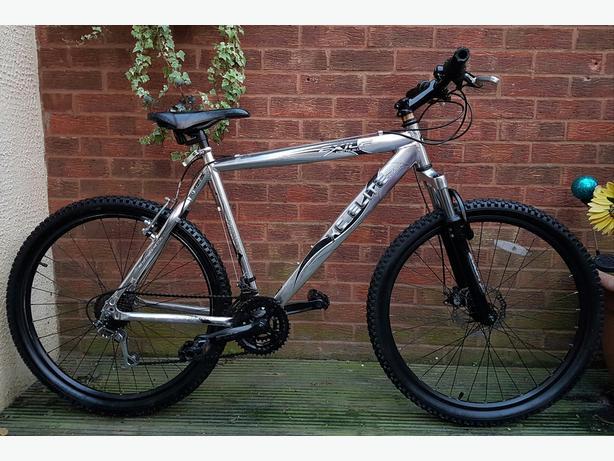 """Exile xc Elite aluminium frame mountain bike,26""""wheels,21speed ..."""