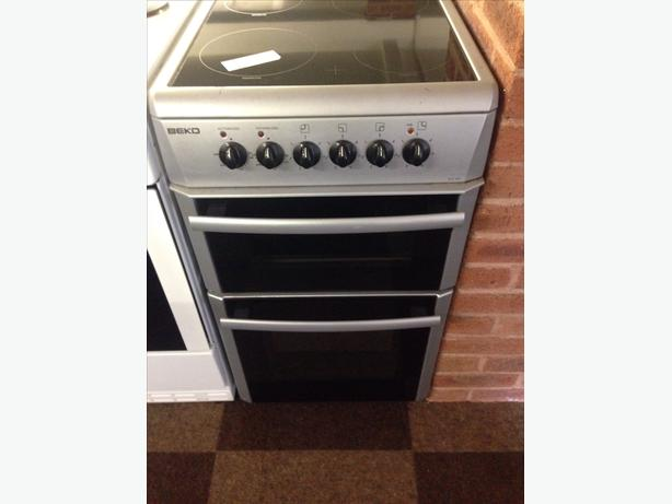 BEKO DOUBLE OVEN ELECTRIC COOKER