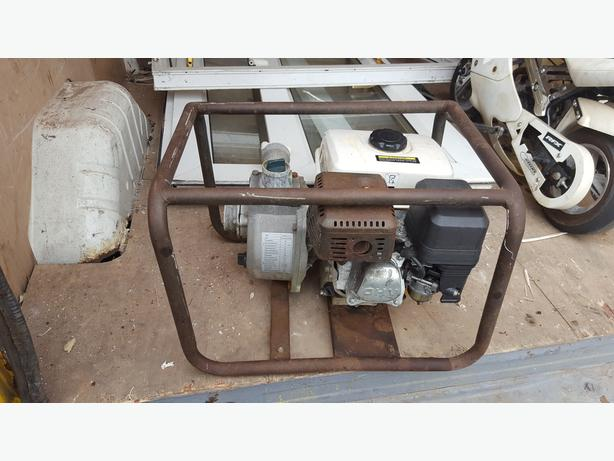 Petrol generator / waterpump