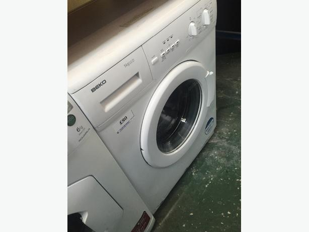 🔵🔵beko washer free delivery and fitting