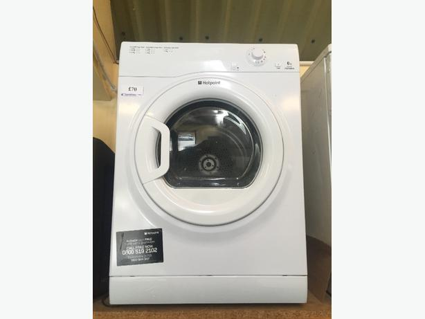 🌐👌💎hotpoint dryer 6kg free delivery