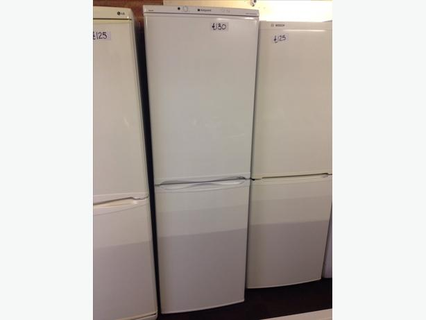 HOTPOINT ICED DIAMOND FRIDGE / FREEZER