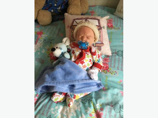 Lovely reborn doll/baby boy