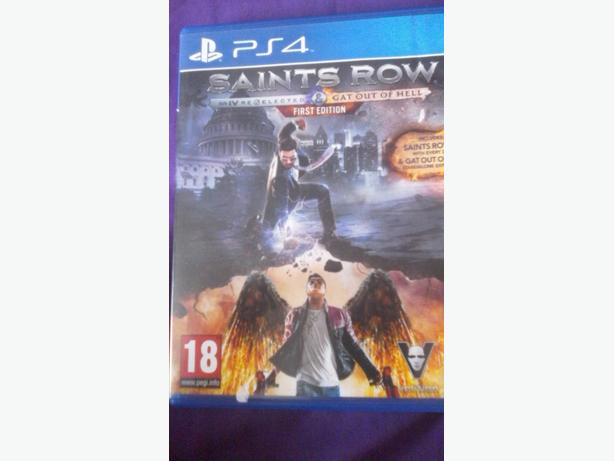ps4 saints row 4 re elected