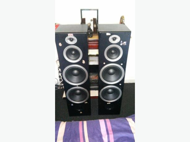 intimidation tower speakers for sale