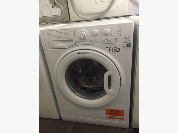 NEW HOTPOINT WASHING MACHINE-6KG LOAD STILL WITH TRANSIT BOLTS IN ETC