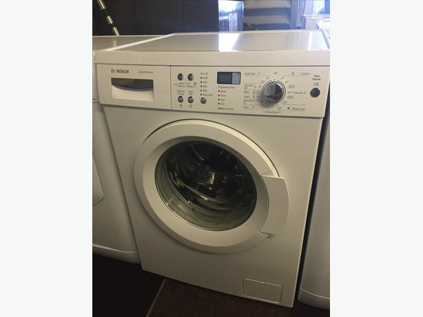 BOSCH VARIO PERFECT WASHING MACHINE IN ALMOST NEW CONDITION WITH GUARANTEE