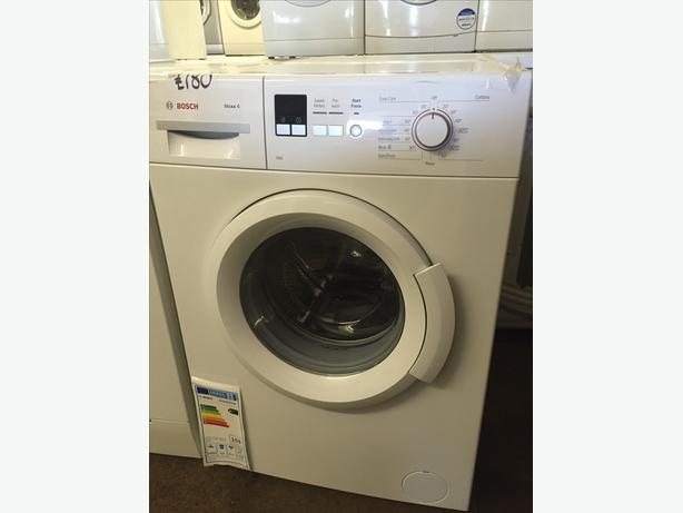 BOSCH NEW WASHING MACHINE - SOAP DRAWER STILL SEALED WITH GUARANTEE
