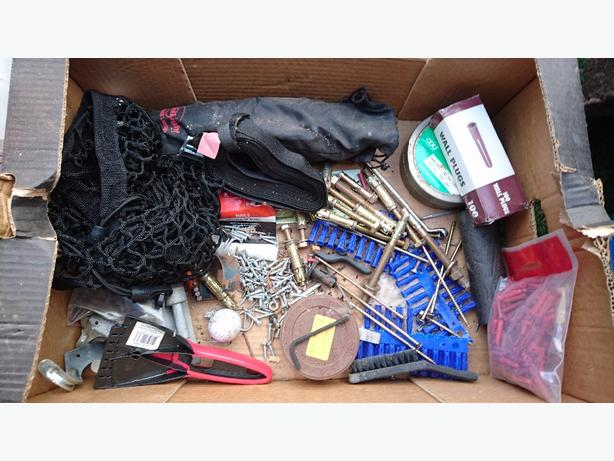 tools bolts screws etc shed clearout