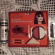 FACE PAINT KIT, TEMPORARY WHITE HAIR DYE + COSTUME LIPSTICK