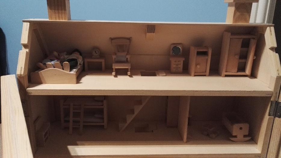 Elc Wooden Dolls House Bilston Dudley