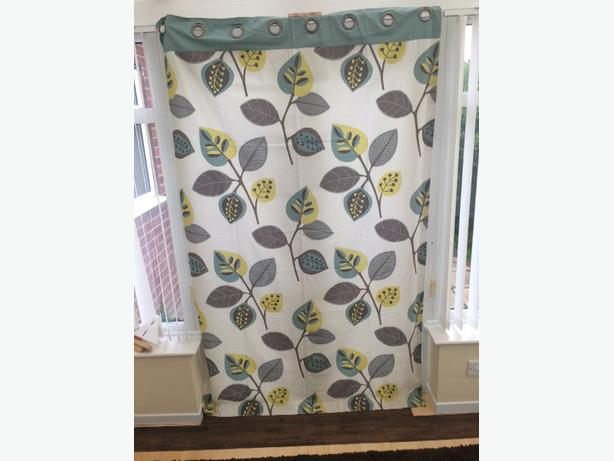 Next - beautiful floor length eyelet curtains
