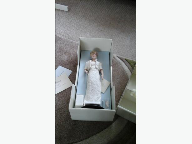 Princess Diana collectable figure.