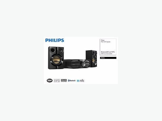 Philips fx15 Hi fi 180 w.