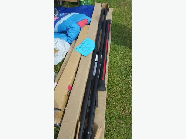 renault traffic lwb roof rails and cross bars