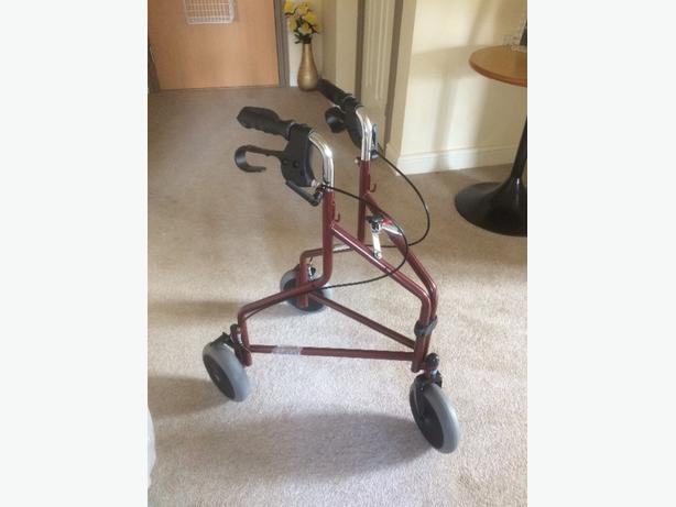 Brand new 3 wheel walking aid