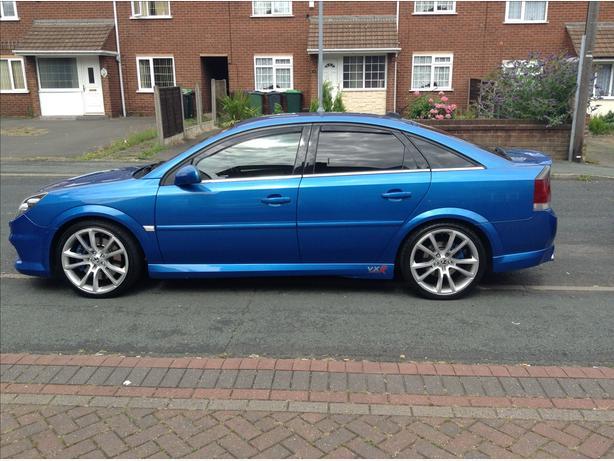 Vauxhall ventral vxr Arden blue