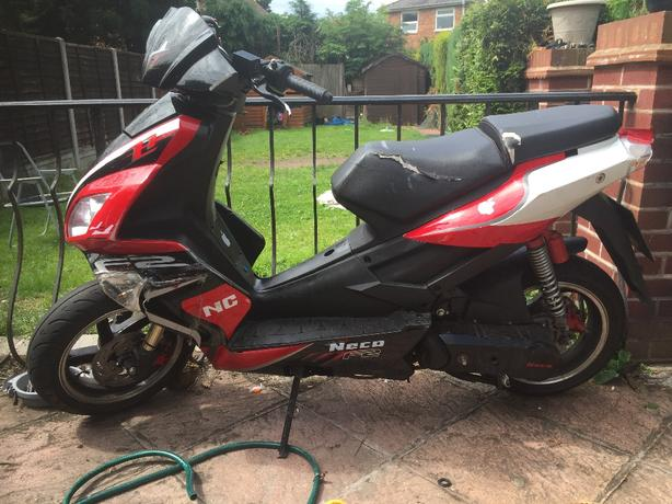 neco f2 50cc scooter