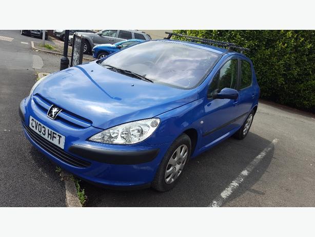 Peugeot 307 1.4 hdi £30 tax p/y
