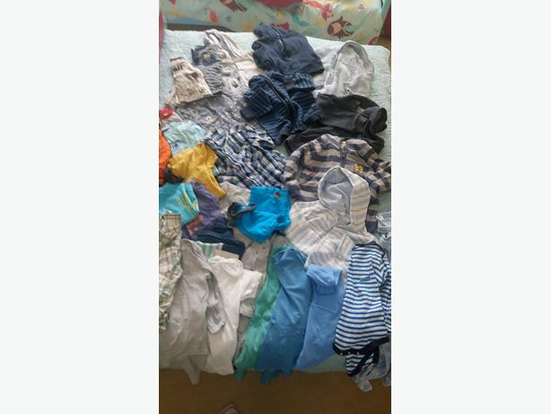 Baby boy clothes bundle (mainly size 9-12 months)
