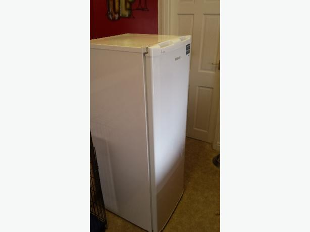 Beko tall white fridge